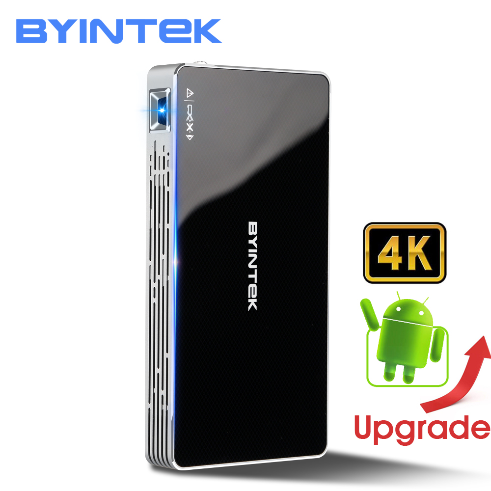 BYINTEK UFO MD322 Tragbare Smart Home Theater Tasche Android 7.1.2 OS Wifi Mini HD LED Projektor Für Volle HD1080P MAX 4 karat HDMI