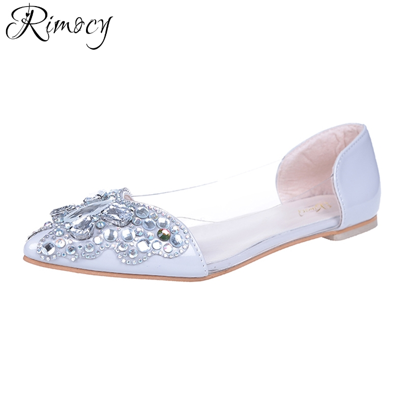 silver low heel wedding shoes rimocy pointed toe low heels wedding shoes 7440