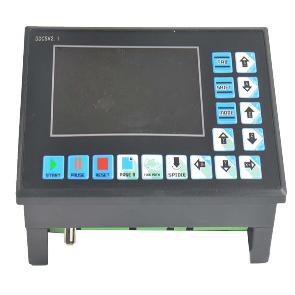 DDCSV 2.1 500KHz numberical controller engraving machine CNC 4 axis CNC system step replace NC studio MACH3 offline controller