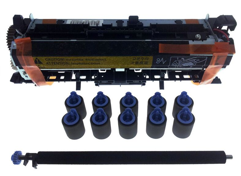 цена на Original New LaerJet for HP M4555 M4555MFP Maintenance Kit Fuser Kit CE732A CE731A Printer Parts on sale