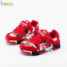 Sepatu kets untuk anak laki-laki dan perempuan, tenis anak-anak, sepatu anak laki-laki 4-14 Tahun, sepatu olahraga fashion, sepatu kamuflase bernapas EUR 27-39