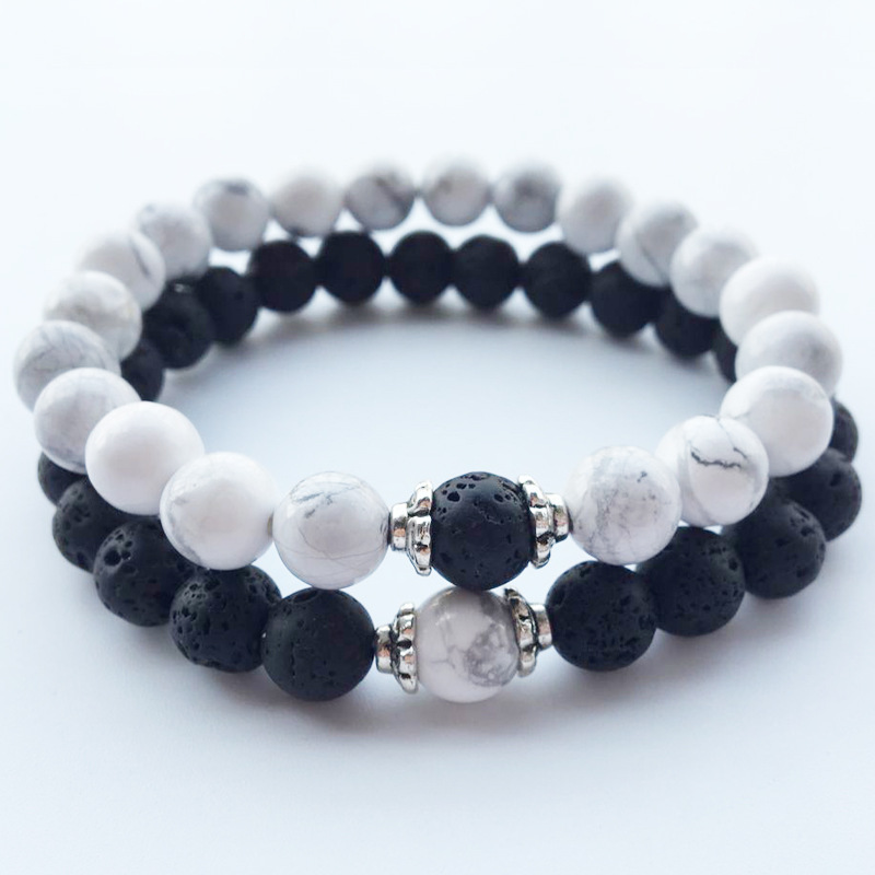 fashion diy friendship distance bracelet men women black