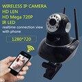 Cámara del ip del p2p 720 p hd wifi wireless baby monitor de seguridad pt nube onvif visión nocturna tarjeta sd micro mega alarma