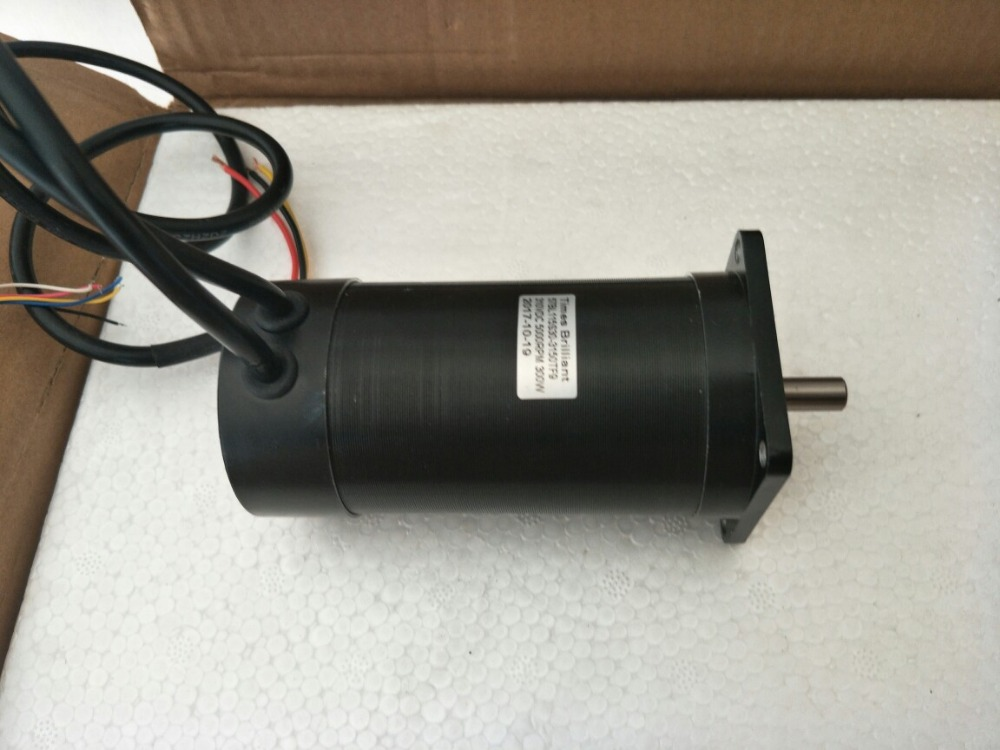 Nema 23 brushless DC high voltage motor 300W 310V 5000 rpm.Body length 115mm High speed brushless motorNema 23 brushless DC high voltage motor 300W 310V 5000 rpm.Body length 115mm High speed brushless motor