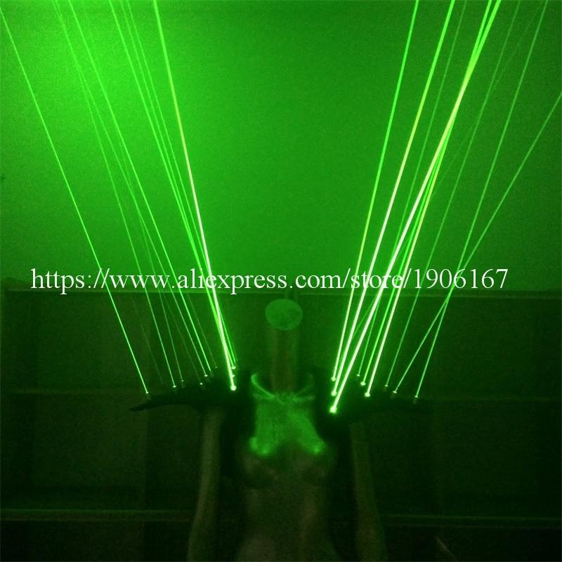 Zeleni laserski prsluk odjeća Laserman prsluk nošnja s 20pcs laseri - Za blagdane i zabave - Foto 2