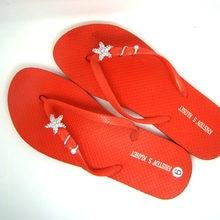 6fca1e4b6 Nuevos cristales estrella de mar playa de las mujeres Zapatos Sandalias  zapatos de verano decoración accesorio de joyería de 6 p.