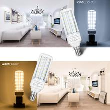 E14 Led Lamp 220V Corn Light Bulb Lampade Led E27 Bulb No Flicker 45 75 120 138leds SMD 2835 Led Lights Decoration Home Garage цена и фото