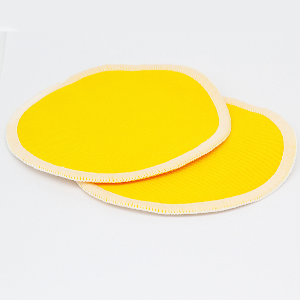 10PC Organic Bamboo Breast Pad Nursing Pads Solid Color For Mum Waterproof Washable Feeding Pad Bamboo Stay Reusable Breast Pad - 3