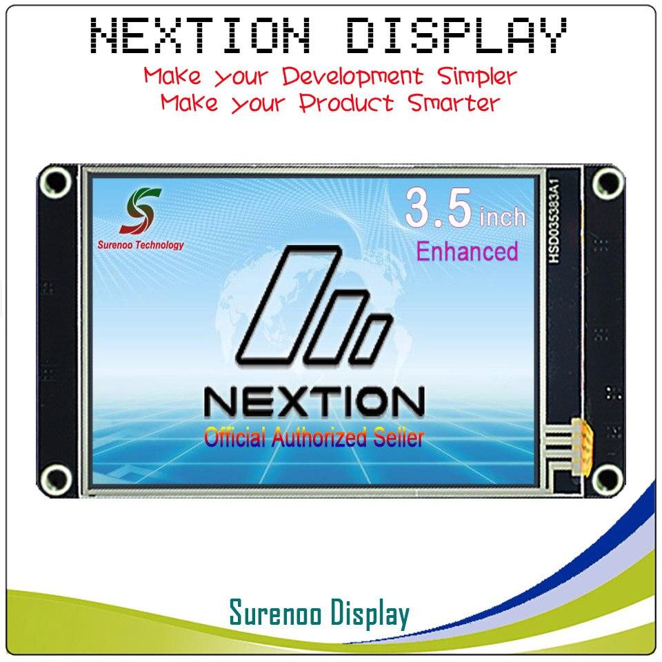 3,5 Nextion Enhanced HMI умный USART UART серийный сенсорный TFT ЖК дисплей модуль дисплей Панель для Arduino наборы Raspberry Pi