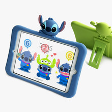 Silica gel case Stitch bracket Tablet Case For Ipad 2 3 4 air 1 2 mini 1 2 3 4 for new Ipad 2017 pro 9.7 2018 A1893(China)