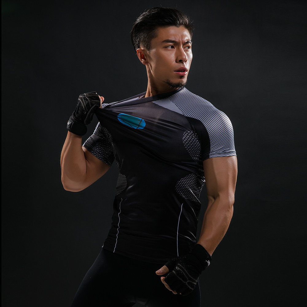Punisher 3D Printed T-shirts Men Compression Shirts Long Sleeve Cosplay Costume crossfit fitness Clothing Tops Male Black Friday 82