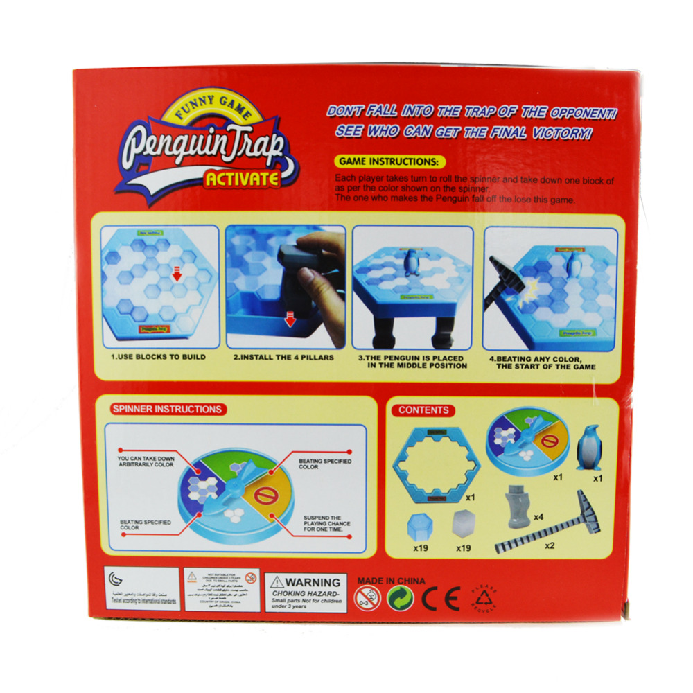 Penguin Kecil Perangkap Ice Breaker Permainan Menyimpan Es Blok Toy Nb Baby Socks Sc04 Kaos Kaki Lucu Import S Pink Perlengkapan Pesta Melanggar Papan Keluarga Anak Awal Pendidikan Mainan