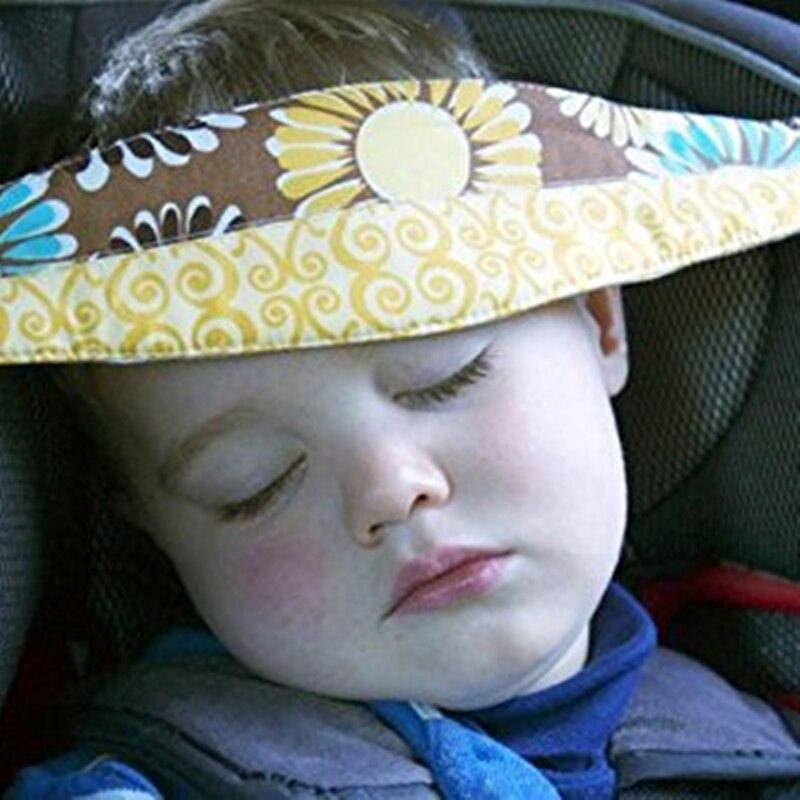 Baby carriage child Safety Seat Fastening Belt Adjustable Positioner Doorways pillows for sleep Travel Pillow Stroller Pram