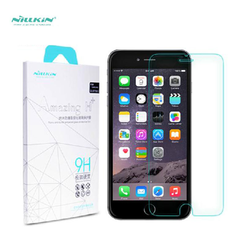 NILKIN For iPhone 6 plus Screen Protector NILLKIN Amazing H+ Nanometer Anti-Explosion Tempered Glass For iPhone 6s plus 5.5