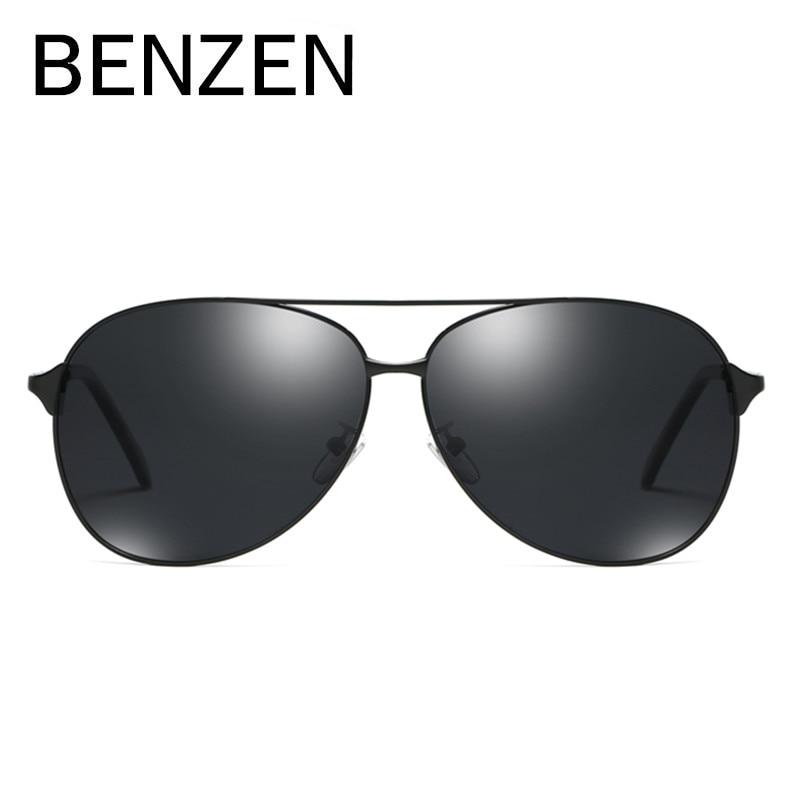 BENZEN polarizirane sunčane naočale za muškarce Vintage Pilot - Pribor za odjeću - Foto 1