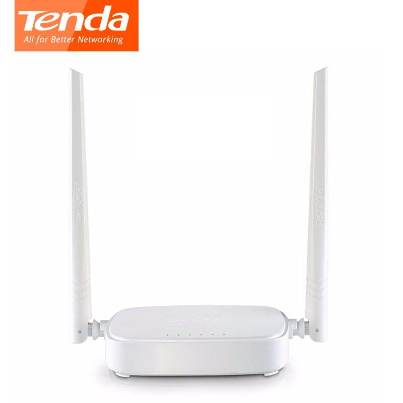 Tenda N301 300Mbps Wireless Wifi Router,WIFI Repeater, 4 RJ45 Ports 802.11b/g/n Home Network Roteador English Russian Firmware ретранслятор tenda a300 802 11n 300mbps 2 4ггц