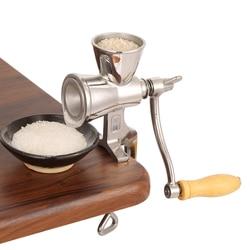 Manual High Quality Food Grinder Machine Household Multifunctional Coffee Grain Grinding Machine Rotatory Rice Bean Slicer