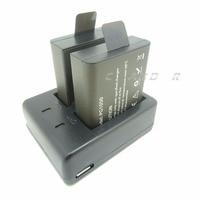 Rechargeable Batteries 1050 MAh For EKEN H9 H9R H8R H3R Action Camera Compatible SJCAM SJ4000 SJ5000X