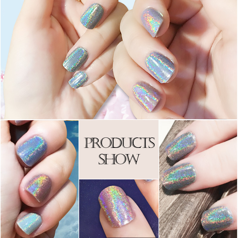Azure Beauty 2017 Holographic Nail Powder Nails Glitter Diy Art Sequins Chrome Shiny Magic Laser In From