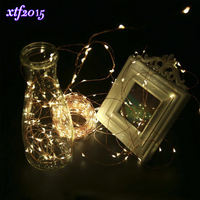 Xtf2015 LED Copper Wire Lights String Flexible 30m 300LEDs Waterproof Starry With Remote Control For Holiday