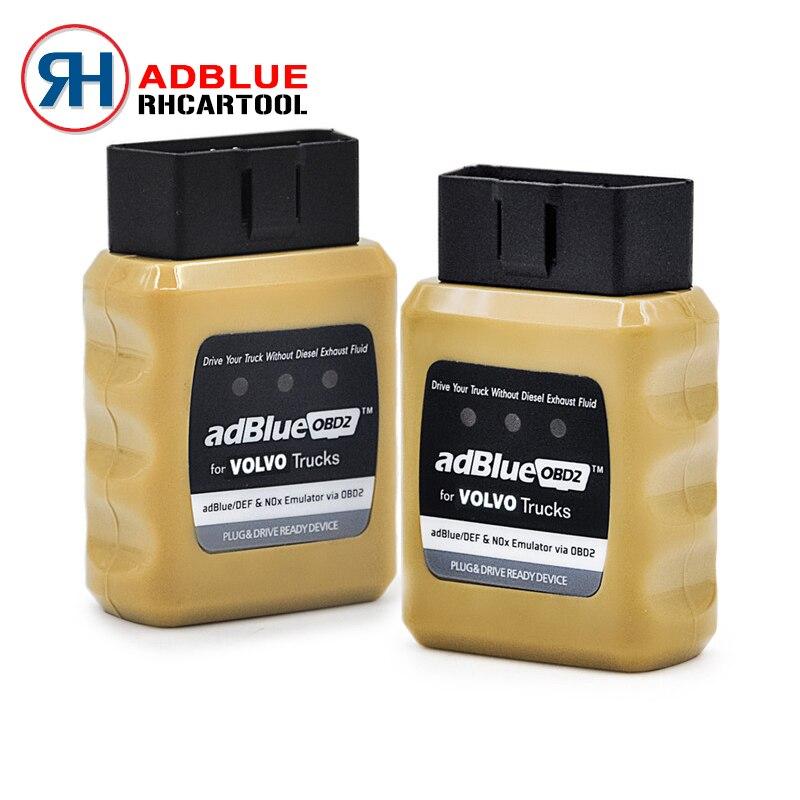 Prix pour Super AdblueOBD2 pour VOLVO Camions Adblue Émulateur pour VOLVO Adblue/DEF Nox Émulateur via OBD2 Adblue OBD2 pour VOLVO livraison gratuite