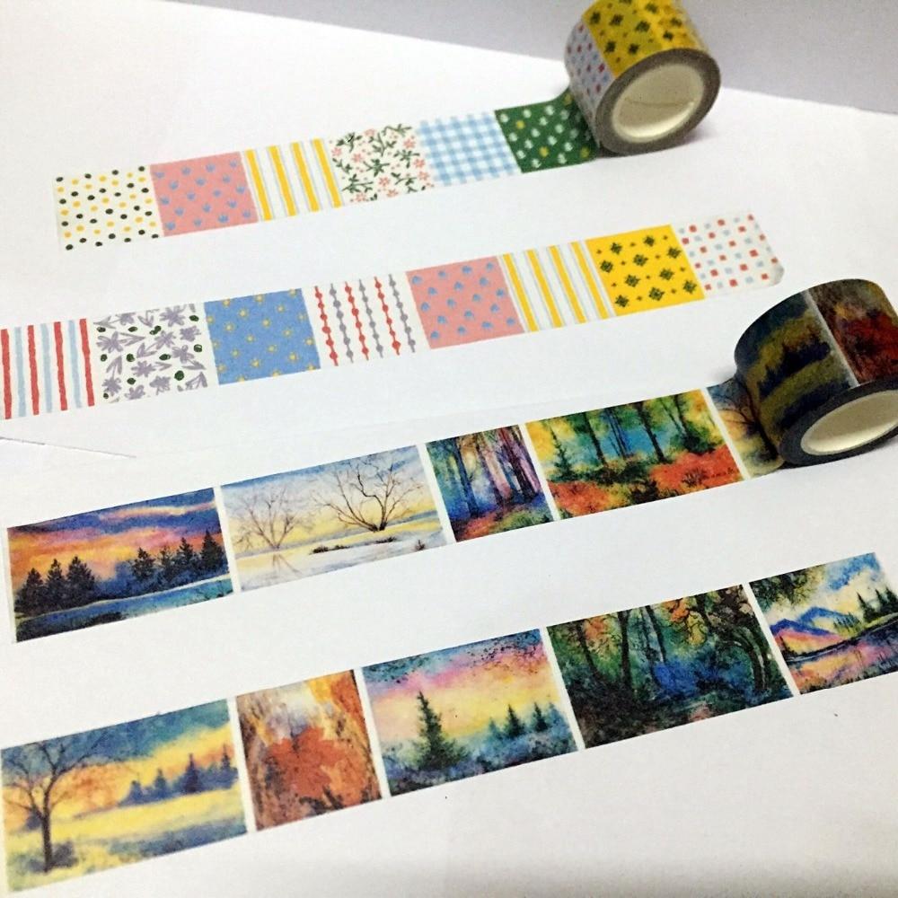 Tapes, Adhesives & Fasteners 30mm*5m Wide Unicorn Style World Washi Tape Adhesive Tape Diy Scrapbooking Sticker Label Masking Tape
