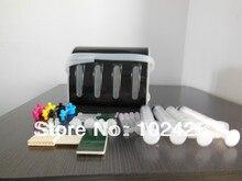4 Цвета комплекты, СНПЧ со всеми accessaries с чернильнице для Epson/Hp/Canon/Brother принтер система Непрерывной подачи чернил