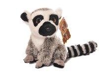 Ücretsiz Kargo 18 CM Simülasyon Lemur Dolması Hayvan Oyuncaklar Sevimli Maymun Peluş Oyuncaklar Bebek Oyuncaklar Yılbaşı Hediyeleri