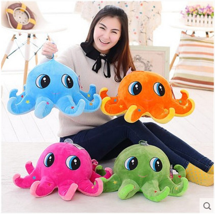 30cm Ocean Octopus Cute Cartoon Stuffed Animals Girl Kids Toys Birthday Gift Plush Toys for Children Girls Doll cartoon cute doll cat plush stuffed cat toys 19cm birthday gift cat high 7 5 inches children toys plush dolls gift for girl