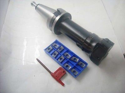 BT40-105l 400R 63mm 5Flute Face Mill/10pcs inserts precision m16 bt40 400r 63 22 face endmill and 10pcs apmt1604 carbide insert new