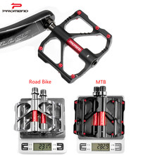 2018 Hot SELL MTB Pedal Mountain Bike Road Bike Pedal Non-slip Ultra-light Aluminum 3 Ball Bearing Cheap Cycling Pedals DH(China)