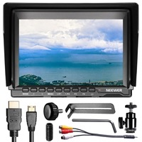 Neewer NW759 7Inch 1280x800 IPS Screen Camera Field Monitor with 1 Mini HDMI Cable 16:10 or 4:3 Adjustable Display Ratio