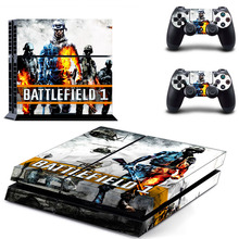 PS4 BATTLEFIELD Skins PS4 Controller Sticker For Sony Controller & Console Plus