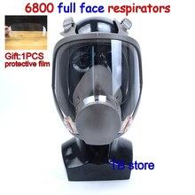 6800 противогаз высокое качество полный уход за кожей лица маска респиратор краской Пестицидов защитная маска может сотрудничать с 3 м/SJL фильтр