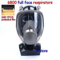 6800 masque à gaz intégral de haute qualité respirateur peinture pesticide masque de protection Peut coopérer avec 3m/SJL filtre