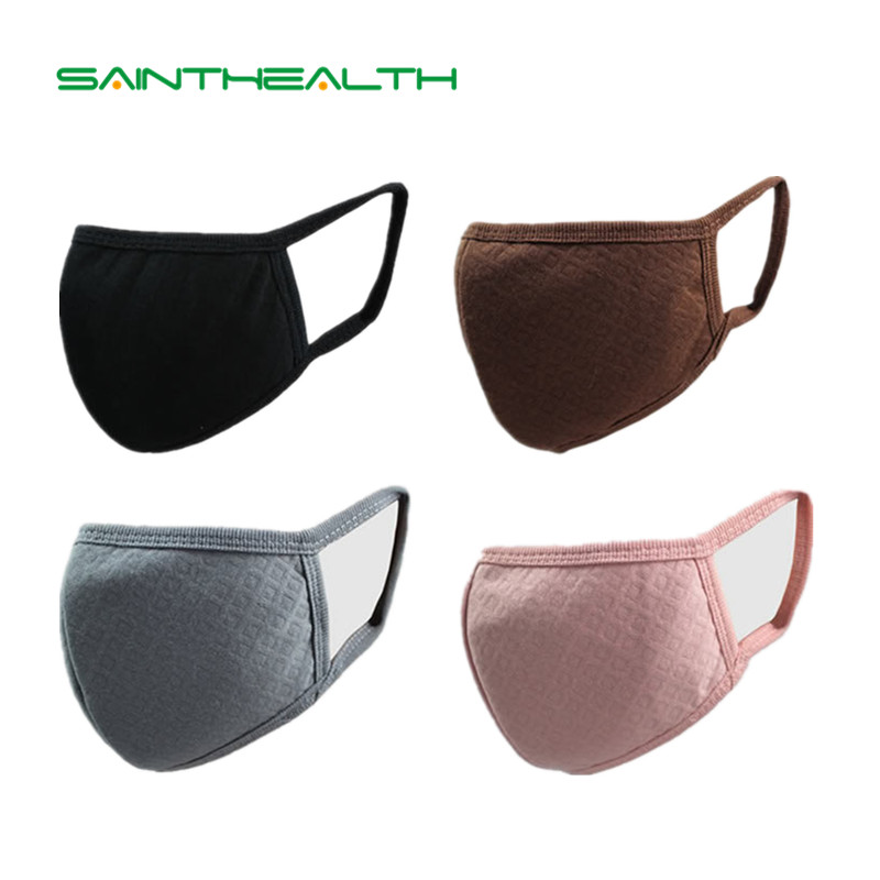Unisex Korean style black Mouth mask bacteria proof dust mask carbon filter bacteria proof Reusable mask respirator Mouth-muffle free shipping 2pcs washable durable cycling mouth muffle pm2 5 anti dust fashionable unisex grid mask respirator