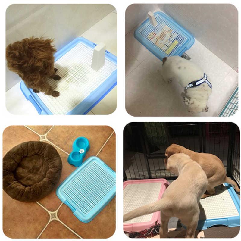 Mesh Plastic Dog Cat Toilet Litter Box