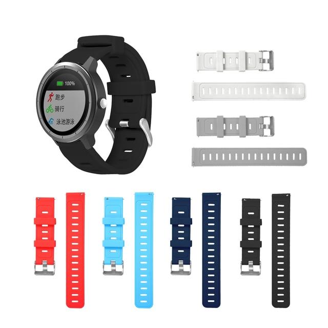 רך סיליקון להחליף רצועת עבור Garmin Vivoactive3 צמיד עבור Vivomove HR חכם רצועת השעון עבור Garmin Vivoactive 3 שעון רצועה