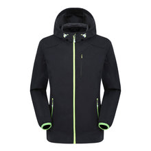 2017 Brand New Mens Windstopper Softshell Waterproof Spring Jacket S-XXL