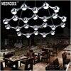 Italian New Design Modern LED Chandelier Light Modern LED Suspension Lighting Fixture For Foyer Dining Room