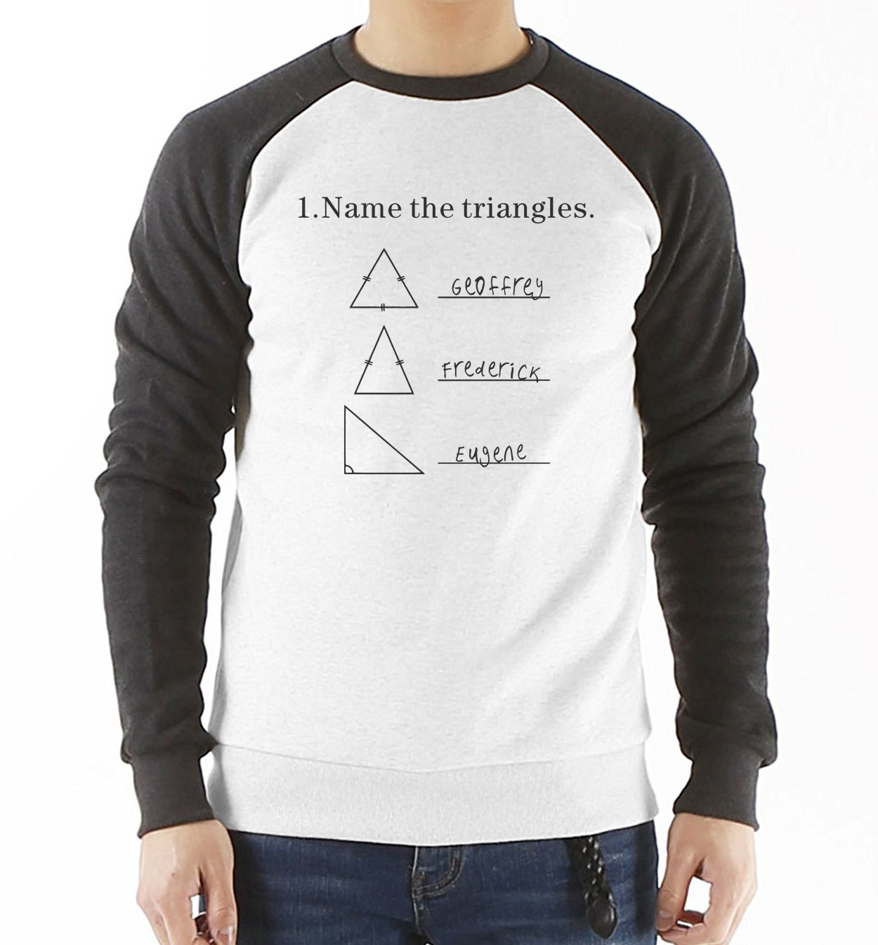 42cbaac9c1f Mens Name The Triangles Funny Math Sweatshirt Men Sarcasm Novelty I Love  Math hoody For Guys Streetwear Hip Hop Man Clothes