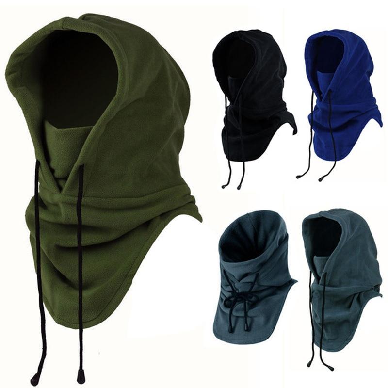2018 motorcycle mask Full Face Mask Fleece Cap Balaclava Neck Warmer Hood Winter Sports Ski Men Women tactical mask men mask sun