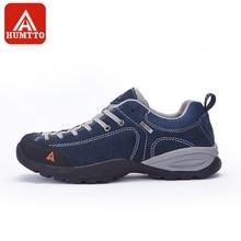 Humtto прогулочная обувь Для мужчин кожа SneakersWinter Спорт на открытом воздухе Восхождение Отдых на природе света нескользящей носимых треккинговые ботинки
