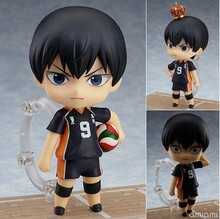 Haikyuu Action Figure 489# kageyama tobio Nendoroid 10CMM Haikyuu Nendoroid kageyama tobio Model Toy Doll Volleyball Figures tobyfancy haikyuu action figures nendoroid hinata syouyou kageyama tobio figure pvc 10cm anime volleyball figures haikyuu
