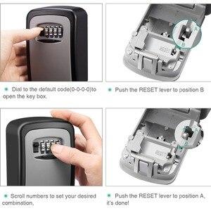 Image 4 - IMPORX anahtarlı kasa Hava Koşullarına Dayanıklı 4 Haneli Kombinasyon Anahtar Saklama Kilidi Kutusu Kapalı Açık şifreli kilit Gizli Tuşları saklama kutusu