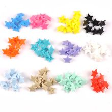 20 Sets KAM T5 12MM Star Resin Snaps Button Fasteners Quilt Cover Sheet Garment Accessories For Baby Clothes Clips cp2175(China)