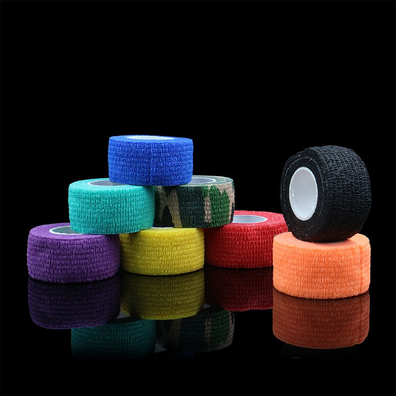 8Pcs Tattoo Grips Cover 8 Colors 25mm Bandage Grip Cover Tattoo Accessories For Tattoo Grip Tubes For Free Shipping 2