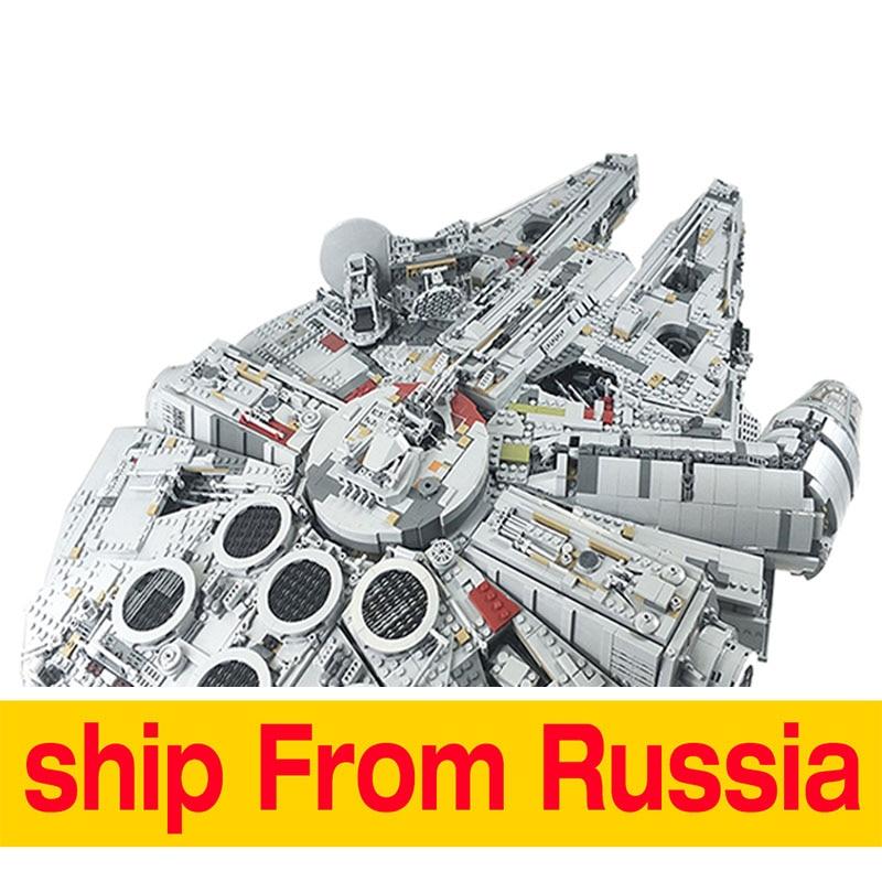 Spagna Lepin 05132 Star Destroyer Millennium Falcon LegoINGs 75192 Mattoni Blocchi di Costruzione di Modello Spedetto Entro 2 Giorni