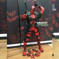Red In Stock 20cm Super Hero Justice league X MAN Deadpool Action Figure Toys Collection Model With Retail Box 270
