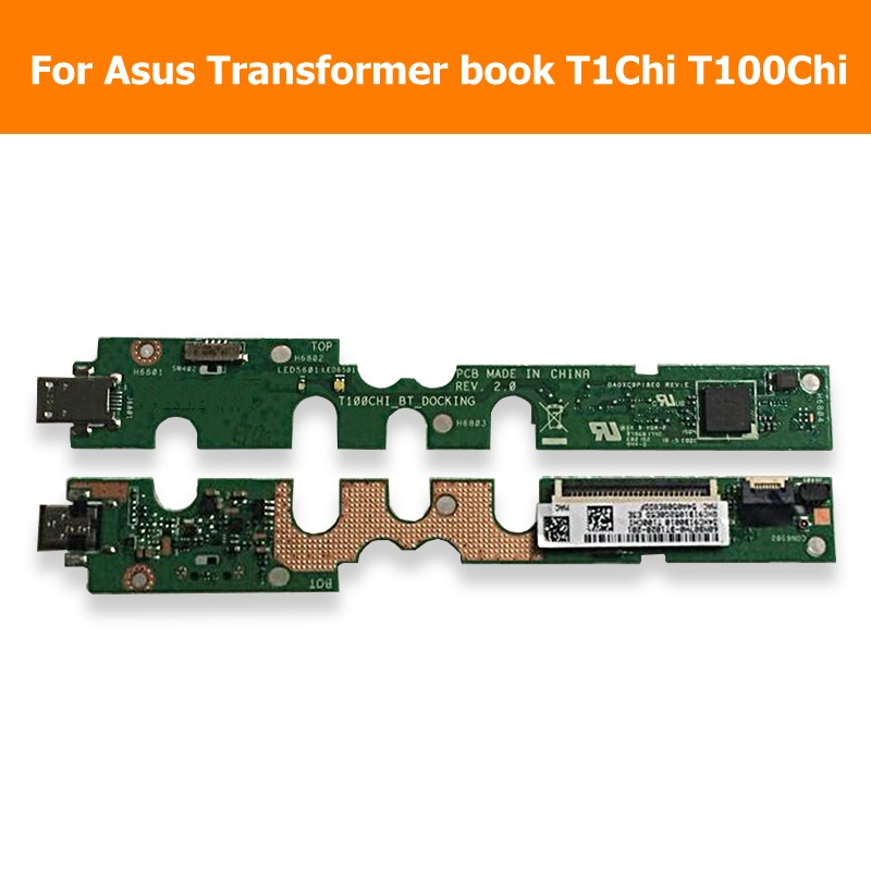 100% Genuine Sync usb Date charger Connector board For Asus Transformer book T1Chi T100Chi USB Charger Jack Dock Port Flex Cable планшет asus transformer book t100ha
